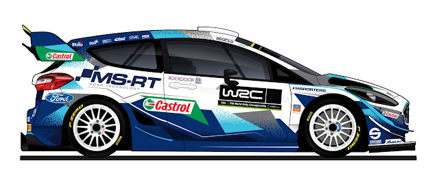 M-Sport Ford Fiesta World Rally Car 2021 livery