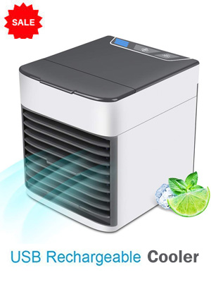 Smallest Air Cooler Rechargeable  Mini Air Conditioning