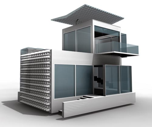 The Future Living House Design Concept