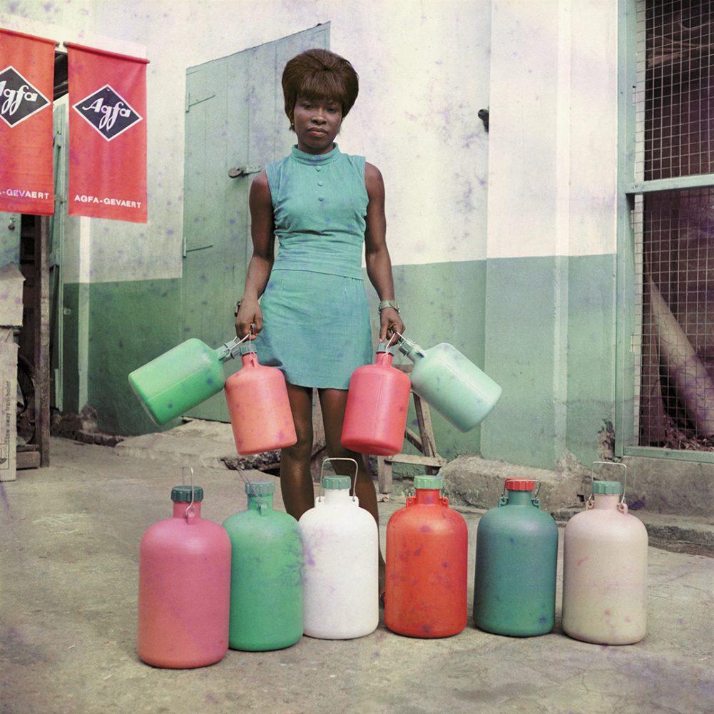 James Barnor, Sick Hagemeyer shop assistant, Accra, c 1957 - James Barnor, Accra London Retrospective at the Serpentine Gallery