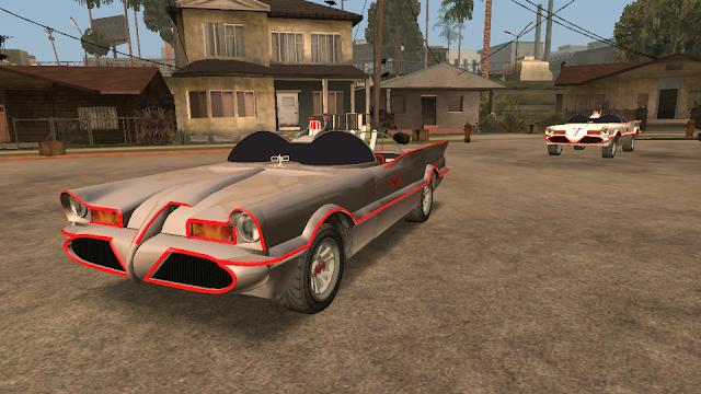 GTA V Vapid Peyote Batmobile 66