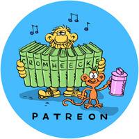 Follow me on Patreon