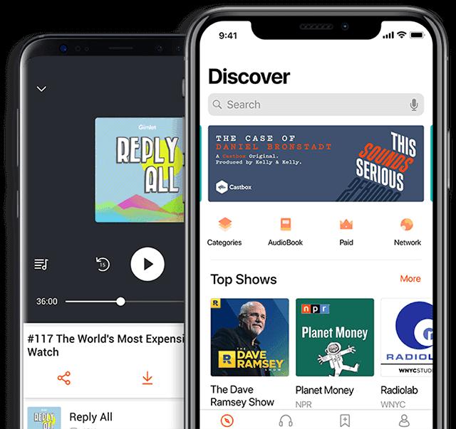 Aplikasi Podcast CastBox
