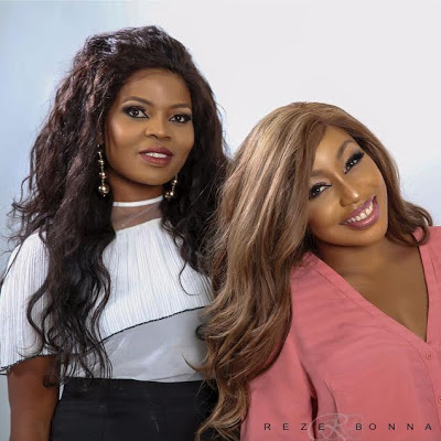 ward winning A List actress Rita Dominic has collaborated with Nigerian Canadian beauty entrepreneur Blessing Kenneth