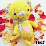patron gratis gato amigurumi, free pattern amigurumi cat