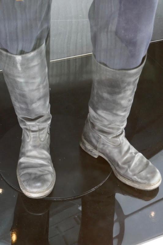 Alden Ehrenreich Han Solo costume boots