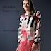 Digital Print Stitched Silk Tunic 2017-18 By Nishat