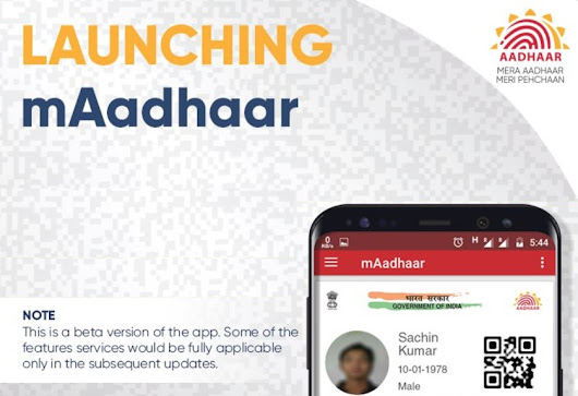 5 Features You Must Know About mAadhaar App Launched for Android