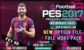 PES 2017 Patch 2022 Full Update For Smoke v17.3.5