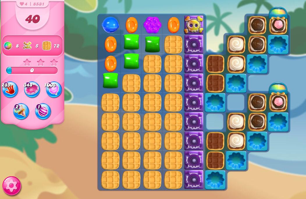 Candy Crush Saga level 8531