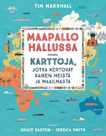 Lastenkirjavuosi Maapallo Haltuun Lasten Karttateoksen Avulla