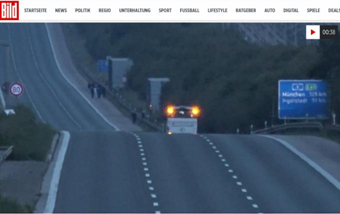 Ostaggi su un autobus nel sud della Germania: bloccata l'autostrada