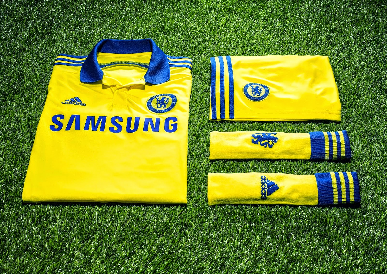 detailing da490 cfeac Pro Soccer: adidas and Chelsea Football Club 2014/15 Away Kit