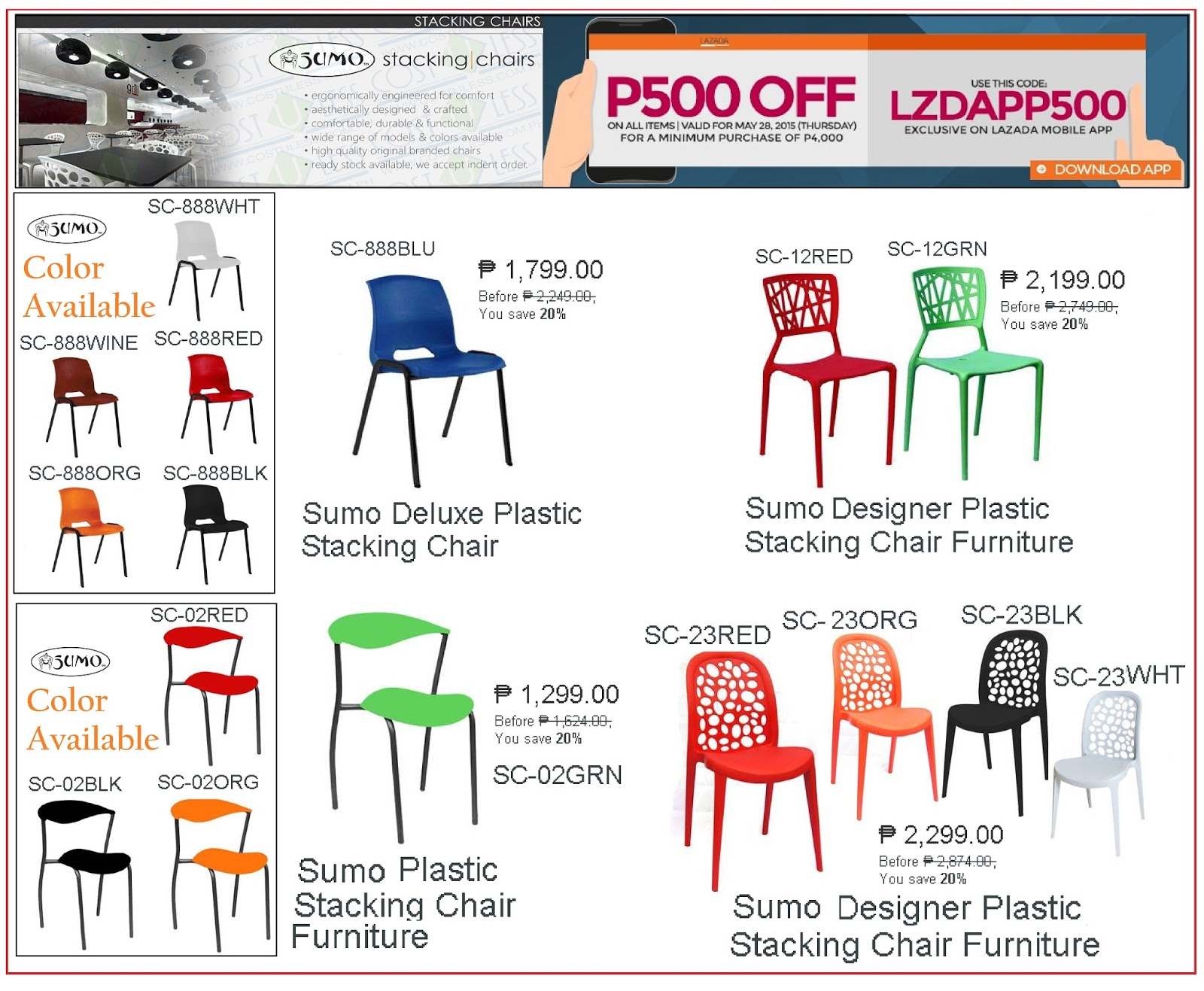 Lifetime Plastic Chairs Philippines What Height Should A Chair Rail Be Placed Cost U Less Office Furniture Manila Supplier