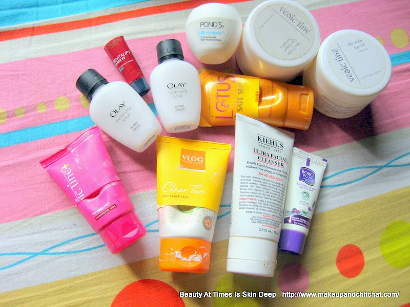Skincare empties November