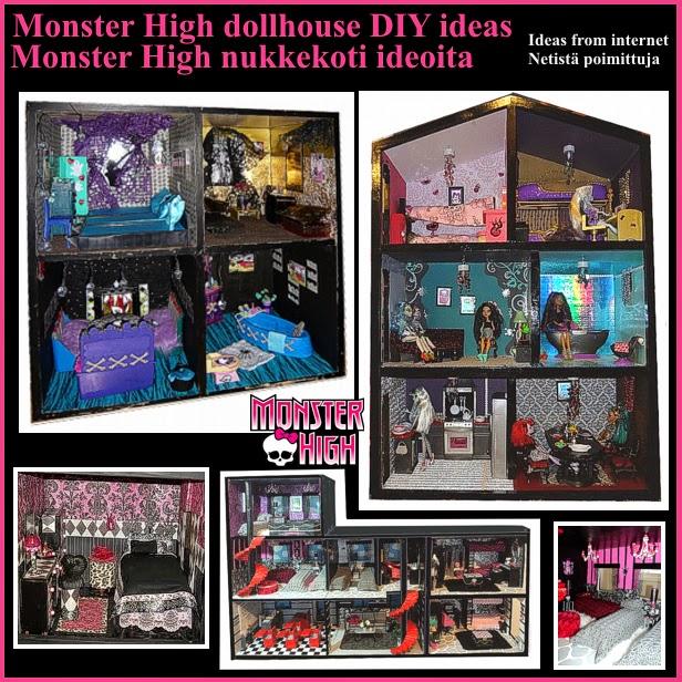 monster high dockhus