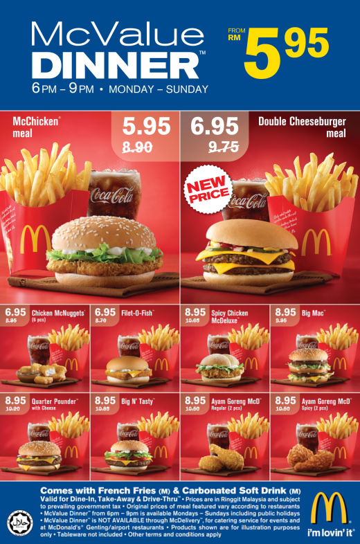 Mcdonalds Food Delivery Malaysia