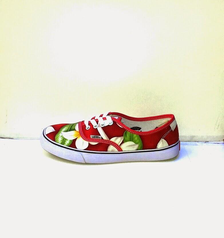 51825b7bca Sepatu Vans Motif Bunga Terbaru - Supplier Sepatu Murah