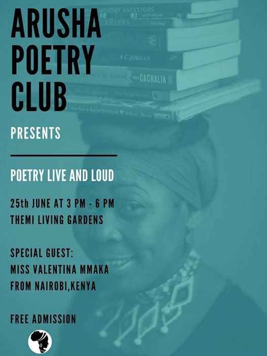 Arusha Poetry Club ~ Valentina Mmaka