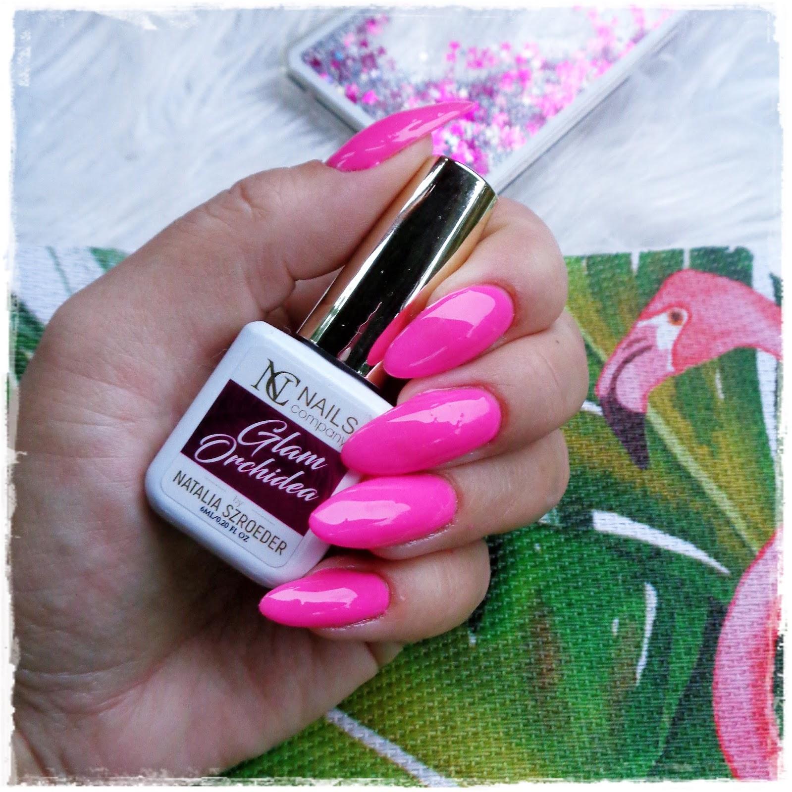 Nails Company, Glam Orchidea, Paczka Niespodzianka , Moje Pierwsze Wrażenia