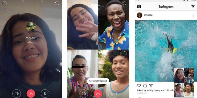 Kini Di Instagram Sudah Bisa Video Call, Fitur Baru Di Instagram