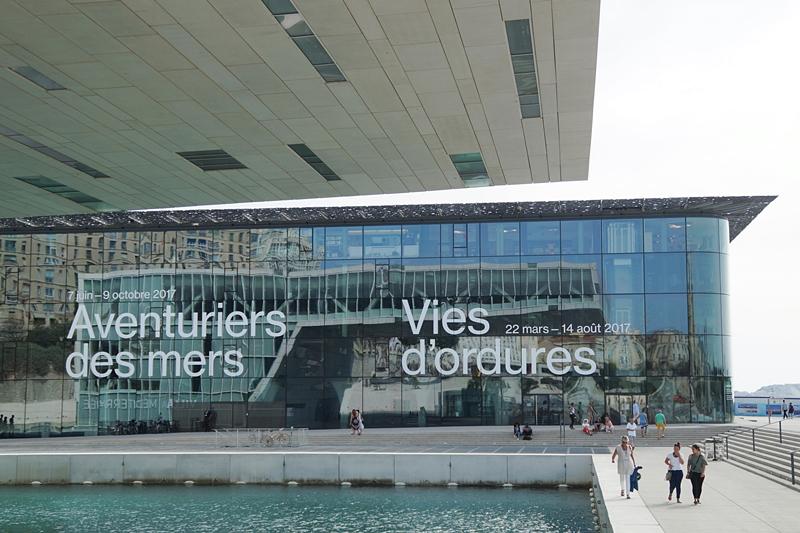 Marseille Museum MuCEM moderne Architektur Sehenswürdigkeiten Reisen Südfrankreich im Sommer. Tasteboykott Blog.