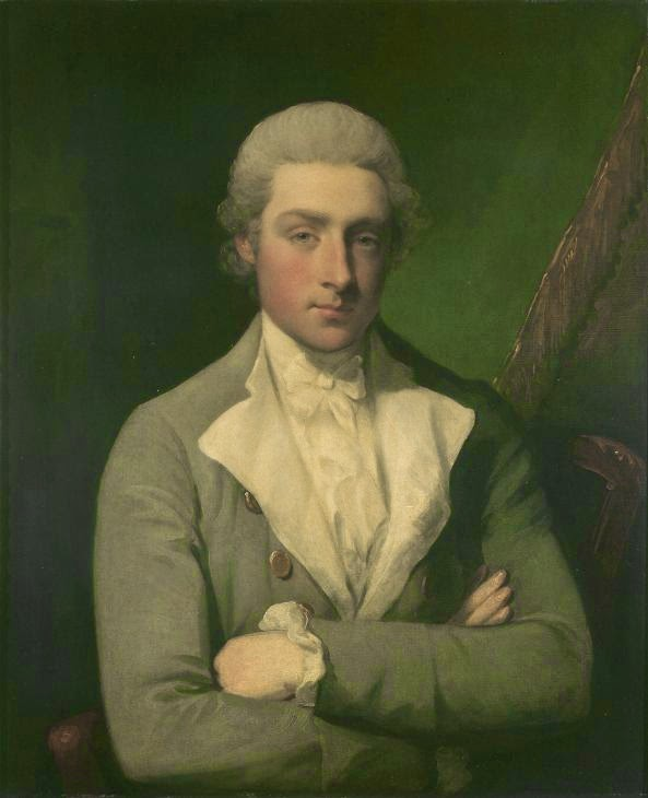 Gilbert Stuart, Self Portrait, 1770s