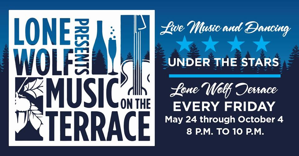 Lone Wolf Music on the Terrace - Fridays from 8-10pm