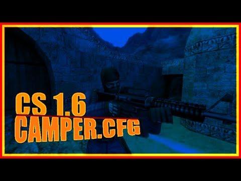 Counter Strike 1.6 Camper Headshot CFG Süper Aim Oranı!