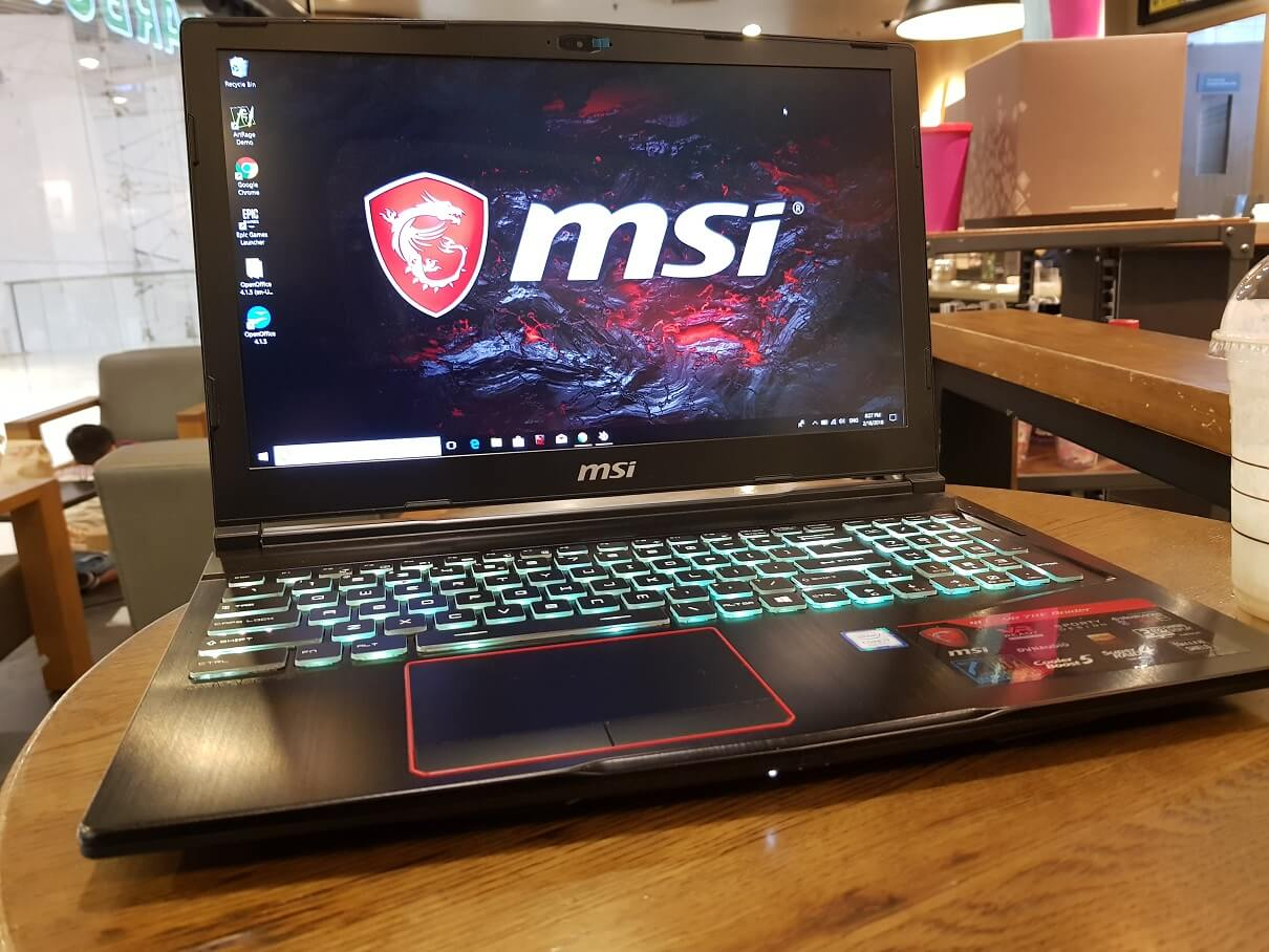 MSI GE63 VR 7RE Raider Gaming Laptop Review: No Hype, it's a