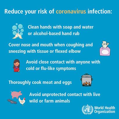 How to lower your chances of catching Coronavirus