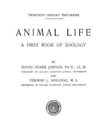 Animal life; the first book of zoology