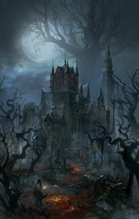 Zhuoxin Ye artstation arte ilustrações fantasia terror sombrio games