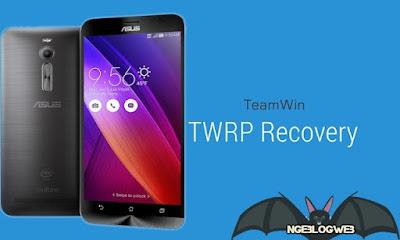 Picture TWRP Recovery Untuk Asus Zenfone 2