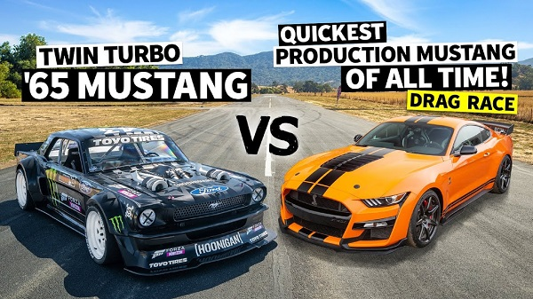 Ford Mustang Hoonicorn V2 vs Shelby Mustang GT500