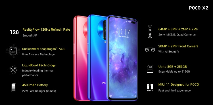 POCO X2 Now Official in India