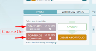 Choose One | Best Place To Investment Your Money Online | Ethtrade