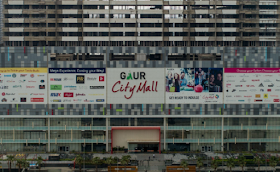Gaur City Mall Vs DLF Mall of India