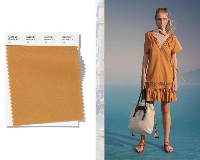 Жаворонок модные цвета весна-лето 2020