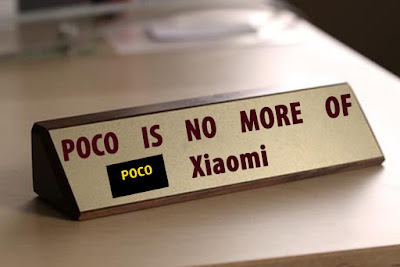 poco is now an independent brand