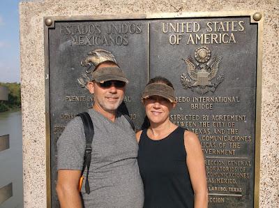 Crossing the Texas Mexico border