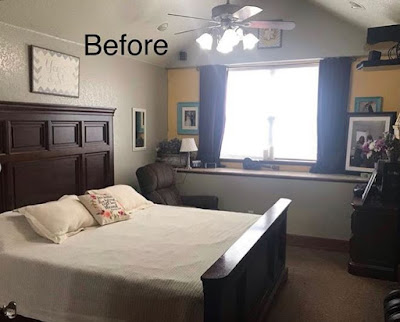Duggar master bedroom redecorate