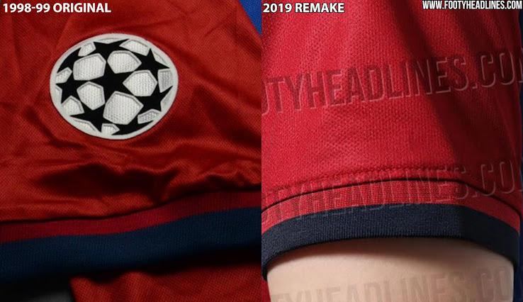 55febdd9 Every Detail Compared: Nike FC Barcelona 1998-99 vs 2019 Remake 'El ...