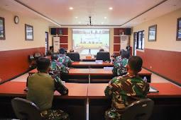 Secara Virtual, Izak Pangemanan Ikuti Rakor KPU Papua, Persiapan Pelaksanaan PSU Yalimo