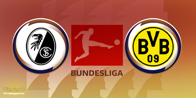 نتيجة مباراة فرايبورج وبوروسيا دورتموند اليوم 21 أغسطس 2021 في الدوري الالماني