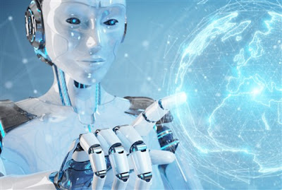 Can AI replace humans, AI robot image