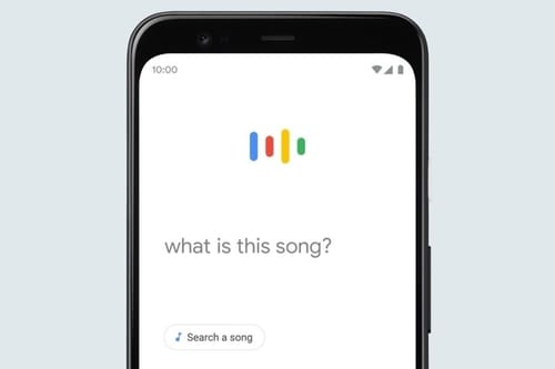 The humming feature of Google search discovers the song