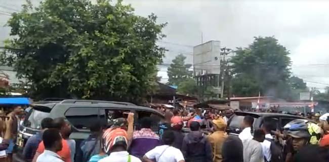 Kerusuhan Di Kota Manokwari, Bandara Rendani Lumpuh Total