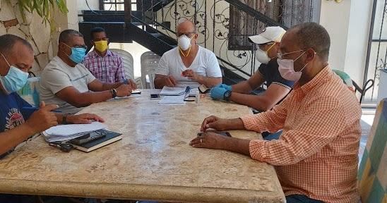 ¡ NO SE DUERMEN ¡ Cuerpo Política del PRD en Barahona se reúne para concertar reemplazo de ex compañeros de esa táctica partidaria