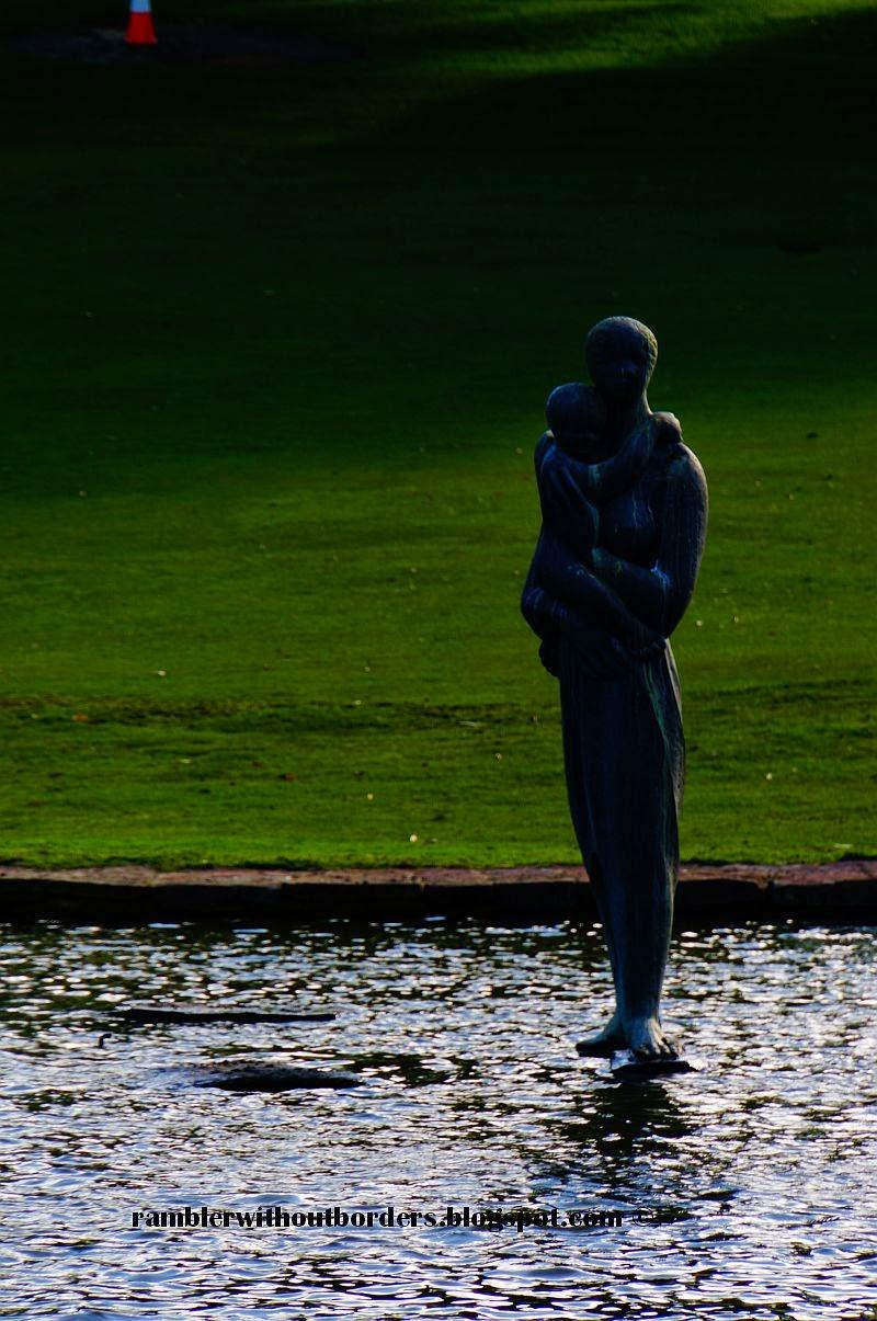Statue of Pioneer Women's Memorial, Kings Park, Perth,WA